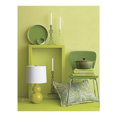 bedding, candlesticks, candlehold, barrels, spring colors, topiaries, accessories, shades of green, crates