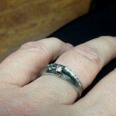 My new one carat diamond ring