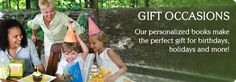 Our personalized books make the perfect gifts for birthdays, holidays and more! www.iseeme.com