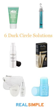 Our favorite products for treating dark circles and tired eyes.