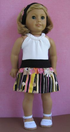 A Doll for all Seasons - blog with tutorials for remaking baby clothes into doll clothes
