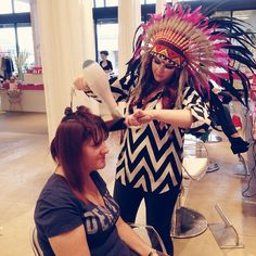 @Anna Smith/Shop Blow-Dry Bar & Boutique looking oh so cool for #Halloween