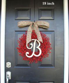 Christmas Decor Holiday Decoration Christmas by ElegantWreath