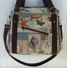 Rockstar Bag pdf sewing pattern, bag made by Mary