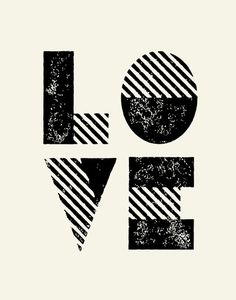 Typography Print by