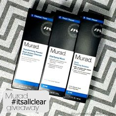 Skin Care Sunday - Murad Acne Solutions info + #giveaway - daydreaming beauty #itsallclear #MuradCares #BetterEveryDay