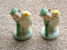 Pair shelley mabel lucie attwell boo -boo elf figures L.A. 11 toadstool 8cm | eBay