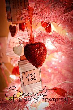 Valentine Tree-- I love the idea of having a 'love' tree around Valentine's Day.