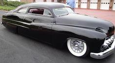 1950 mercury sled. Mansions, Super Cars and Bulging Bank Balances!