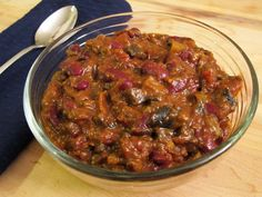 Eggplant and Mushroom Chili with Smoked Paprika and Stout # ...