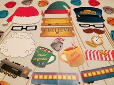 PDF - Polar Express Photo Booth Props - Printable DIY on Etsy, $3.95