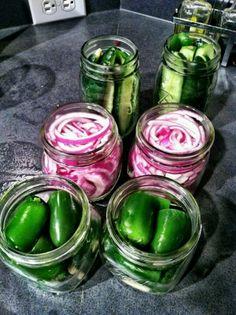 Pickled vegggies