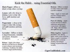Stop Smoking Using Essential Oils