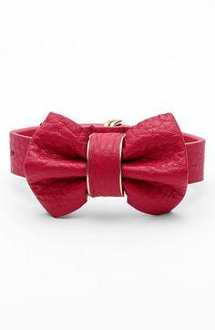 Cara Bow Bracelet   Nordstrom