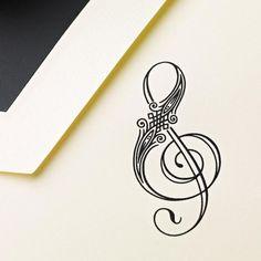 ampersand trebl clef, tattoo ideas, music symbol, music tattoos, font, tattoo patterns, a tattoo, design, ink