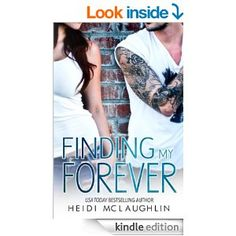 Finding My Forever (The Beaumont Series) by Heidi McLaughlin.  Cover image from amazon.com.  Click the cover image to check out or request the romance kindle.