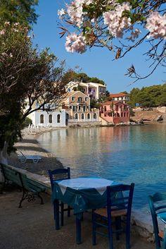 ionian island, beauti place, bays, kefalonia island, greece, islands, places, travel, asso bay