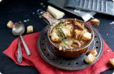 Classic French Onion Soup, possibly my favourite soup ever