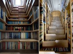 Library Staircase — Architecture-Design -- Better Living Through Design