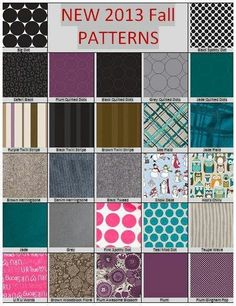 New thirty one fall patterns.