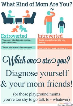 Are You an Introverted or an Extroverted Mom? SO FUNNY from @RobynHTV on @NickMom #motherhood #momfriends #humor
