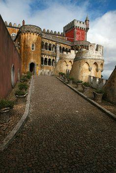 Sintra, Portugal-----Beautiful Castle!