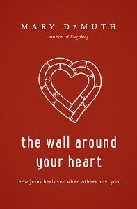 The Wall Around Your Heart: How Jesus Heals You When Others Hurt You: Mary DeMuth - can't wait to get my hands on this!!
