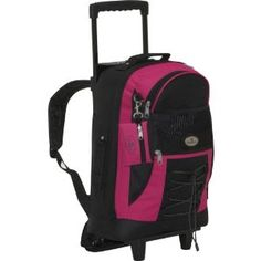 Everest Wheeled Backpack with Bungee Cord (Apparel) http://www.amazon.com/dp/B004GIDA7M/?tag=pindemons-20 B004GIDA7M