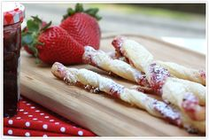 The Perfect Bite :: Breakfast Jam Straws