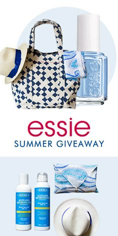 Enter to #Win a #Beach Essentials Pack & #Essie Nail Polish! #beauty #summer #contest VALID UNTIL MAY 31