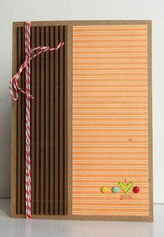 i heart you card * jillibean soup * - Scrapbook.com