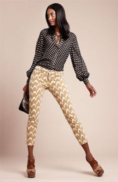 Great pattern mixing