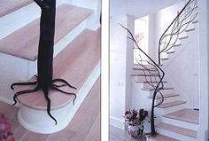 Unique handrail