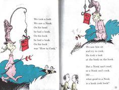 My favorite Dr. Seuss poem EVER!