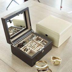 Hadley Leather Jewelry Box