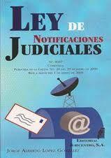 Ley de Notificaciones Judiciales