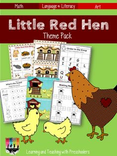 Little Red Hen Theme Pack & Weekly Plans (from Learning & Teaching With Preschoolers)