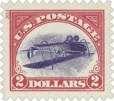 It's back! Perhaps the most famous error in the history of U.S. stamps - the Inverted Jenny - will be featured on a souvenir sheet to be released later this year. Reprinted with a $2 denomination to make them easy to distinguish from the 24-cent originals, the Inverted Jenny stamps will commemorate the many ways a single stamp can turn a moment in history upside down. (Stamp design shown reflects preliminary artwork and may be subject to change.)