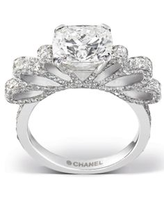 GORGEOUS Chanel Engagement Ring