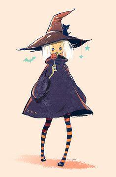 Witch ~ Yoko Tanji illustration
