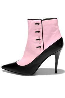 Ralph Lauren pink spats 'boots'