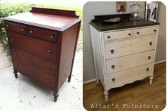 re do furniture, painted furniture, black gloss, painting furniture, dresser redo, painted french dresser, furniture before and after, paintings, home furniture