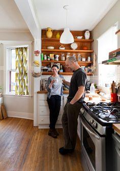 Jessica & Charley's Chocolate Workshop and Handmade Home Kitchen Kitchen Tour | The Kitchn
