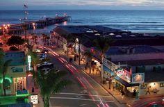 Pismo Beach's Pomeroy Street, Central Coast California.