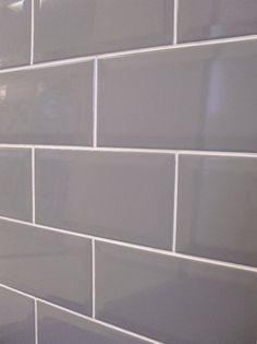 grey subway tile