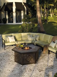 A fire pit is the perfect outdoor destination for your family and friends.