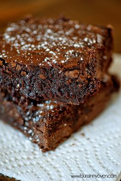 Nutella Brownies - These decadent brownies are full of Nutella, cocoa, and milk chocolate for a super fudgy treat! These are, dare I say, even better than the box mix brownies we all love!..