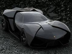 Lamborghini Ankonian - The Batmobile.