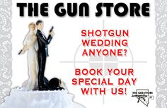 Las Vegas Gun Store Offers Real Shotgun Weddings