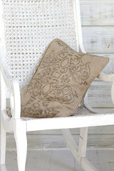 Radiance Beaded Pillow - Brass & Silver Bead Pillow, Beaded Linen Pillow | Soft Surroundings